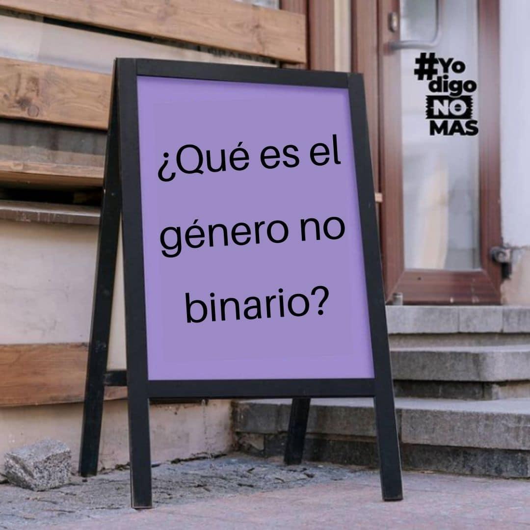 ¿Qué es el género no binario?