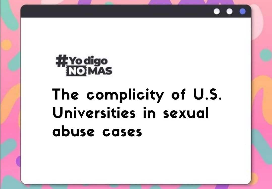 Complicity of U.S. Universities in sexual abuse cases