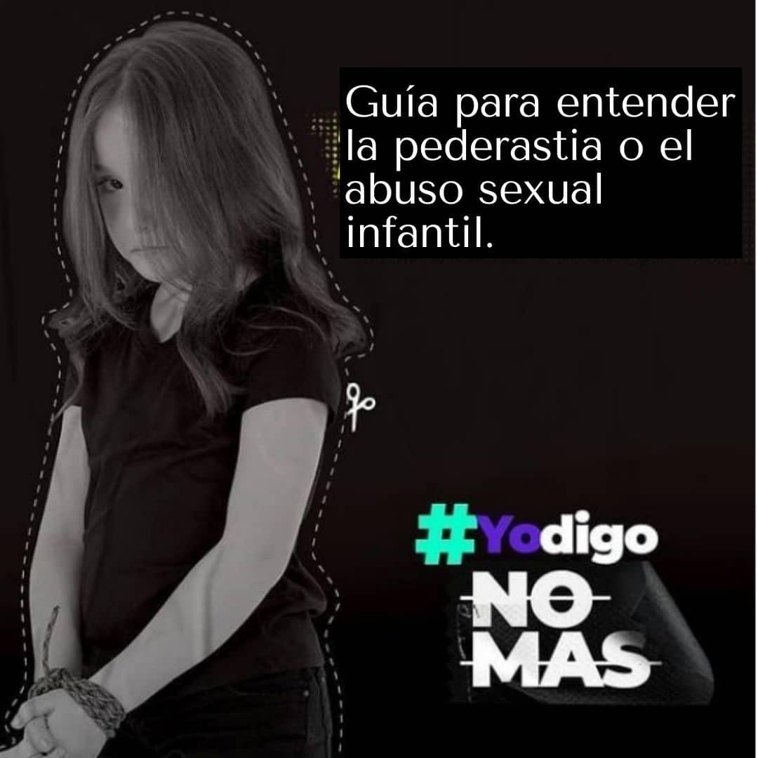 Guía para entender la pederastia o el abuso sexual infantil