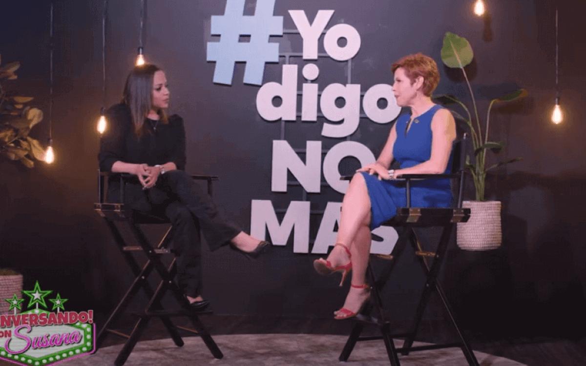 """María Trusa at """"Hablando con Susana"""""""