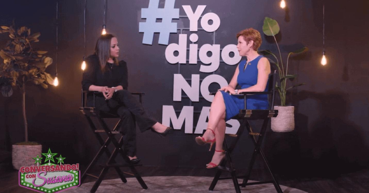 María Trusa at Hablando con Susana