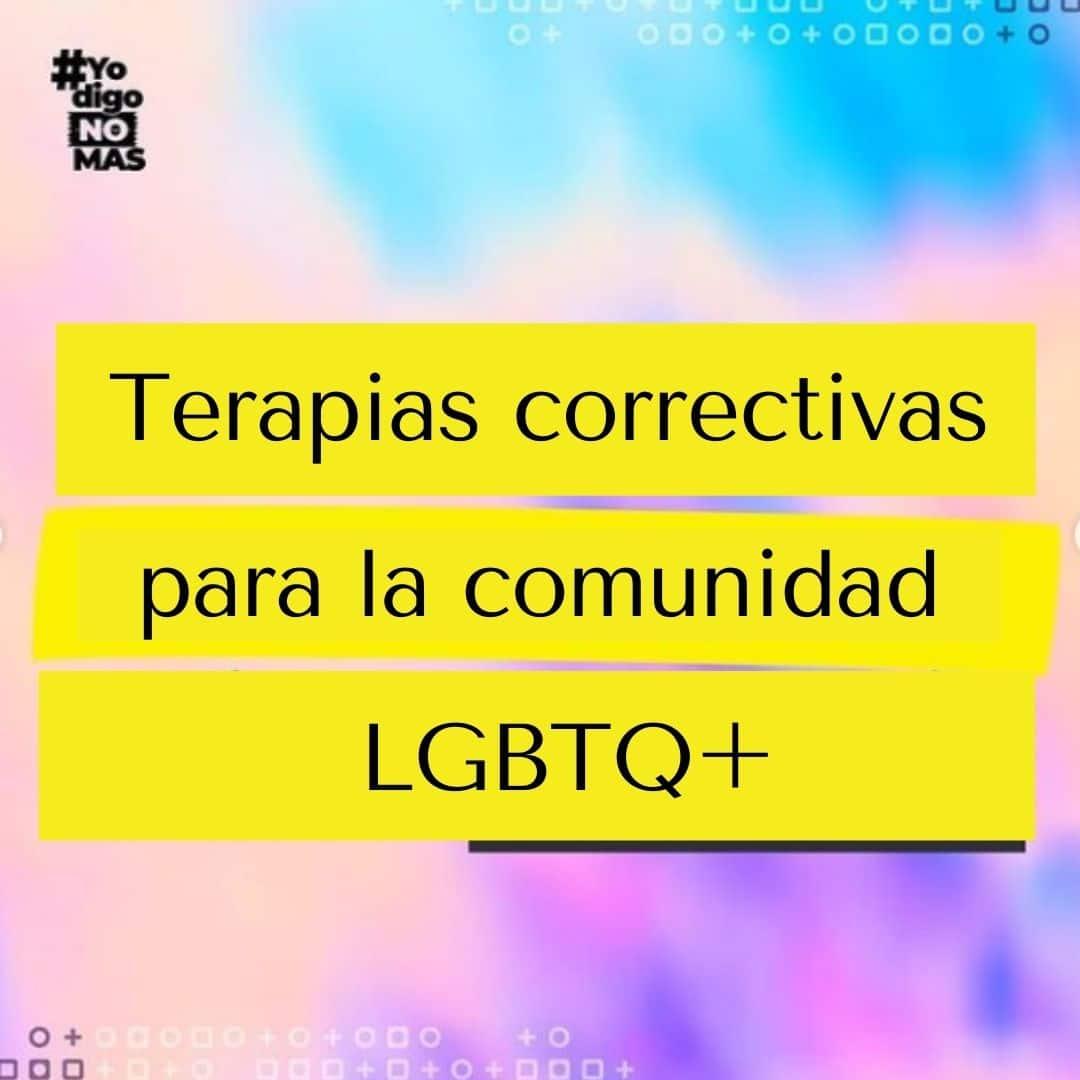 Terapias correctivas para la comunidad LGBTQ+
